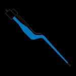 Pinça Bipolar Baioneta Com Irrigação – Neurologia – 20cm – 05mm