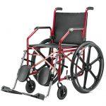 Aço – Cadeira de Rodas 1012