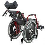 Alumínio – Cadeira de Rodas Ágile Reclinável