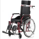 Alumínio – Cadeira de Rodas Fit Reclinável